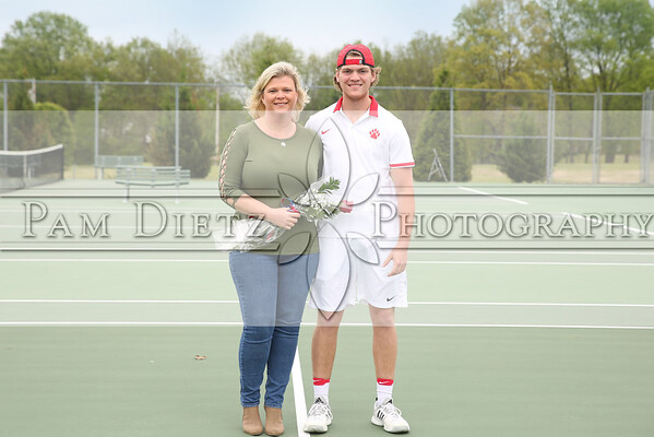 USJ Tennis Senior night 4-24-18