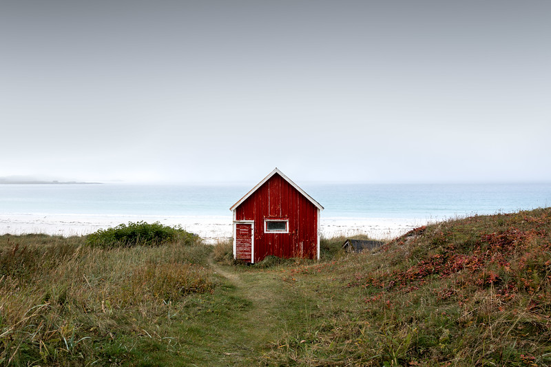 Rambergstranda Red Hut Lofoten landscape photography norway.jpg