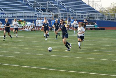 2010 Oakwood Girls JV Soccer vs Monroe