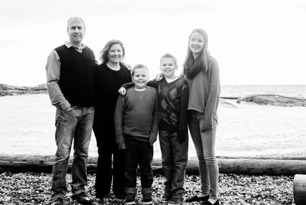 December Family Portrait