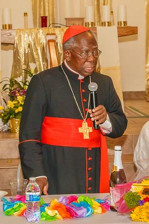 Your Eminence Cardinal Arinze