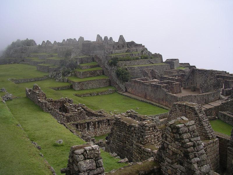 Machu Picchu scenery.