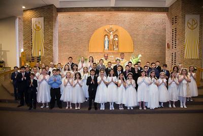 St Patrick's Church 1st Communion