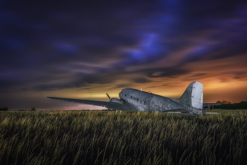 DC-3 into the Storm