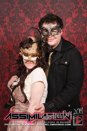 Valentine's Day Masquerade Ball 2014