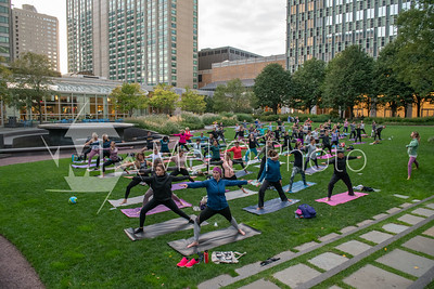 Sip and Stretch at the Prudential