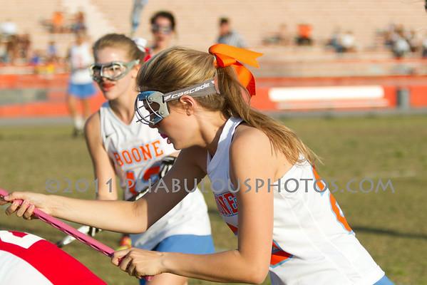 Boone Girls JV Lacrosse 2011 - #20