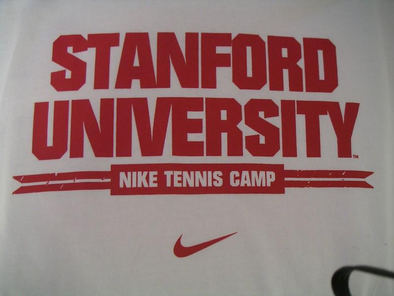 Stanford Nike Tennis Camp T-shirt