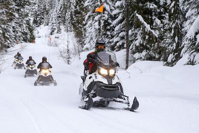 Monday Snowmobile