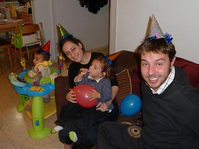 Meir's 2nd Birthday Bash