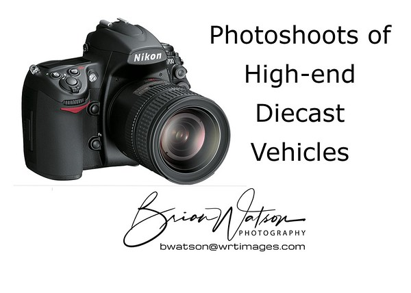 Custom Photo Shoots of High-End Scale Models