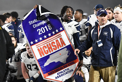 Scotland County vs. East Forsyth - NCHSAA 4-A Football State Championship