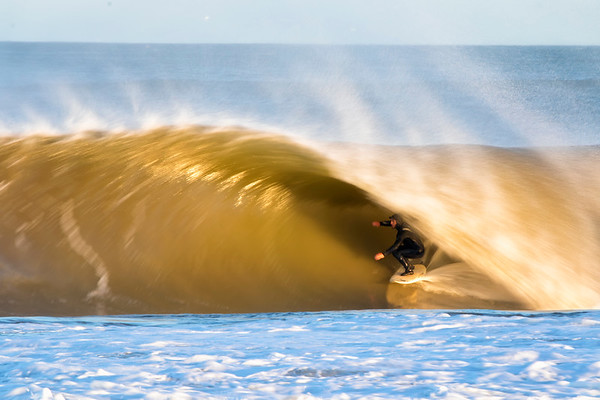 Surfing New England - Phillipe  Swell