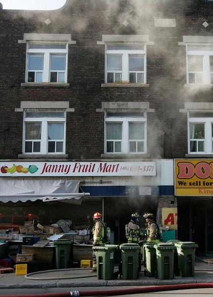 June 11, 2008 - 2nd Alarm - 2539 Danforth Avenue