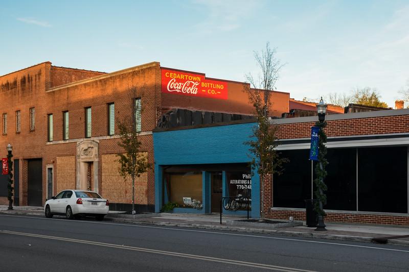 GA, Cedartown - Coca-Cola Wall Sign