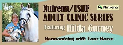 2014 USDF Adult Clinic - Hilda Gurney
