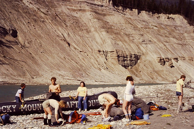 Sweat Lodge on the Kootenay River