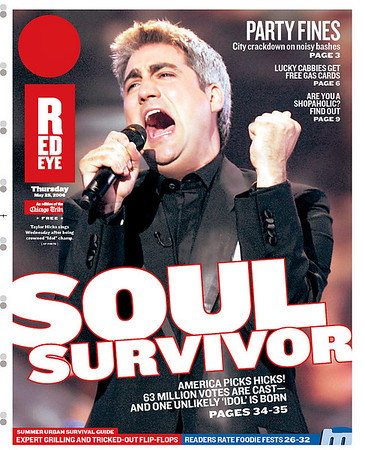Taylor Hicks - soul news day