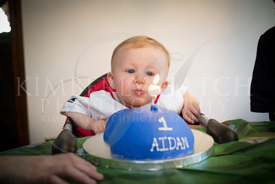 Cake Smash- Aidan's 1st Birthday