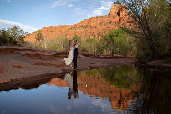 Brett and Angelique's Sedona Wedding