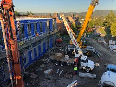 Trillium Dorm Construction: 2018