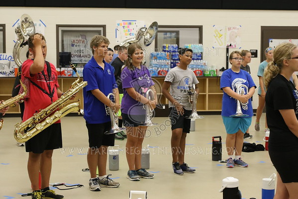 Summer Band Camp and Rehearsals