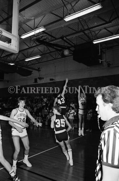 19860212 Fairfield vs Belt Basketball Senior Night
