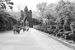 One of the gates into Angkor Thom