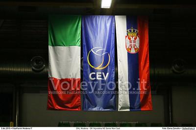 DHL Modena - OK Vojvodina NS Seme Novi Sad #CEVChampionsLeagueM