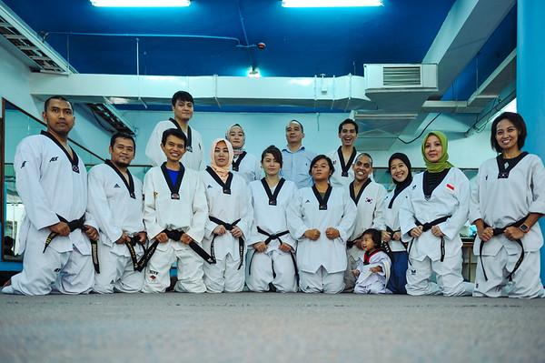 Taekwondo Vintage Indonesia