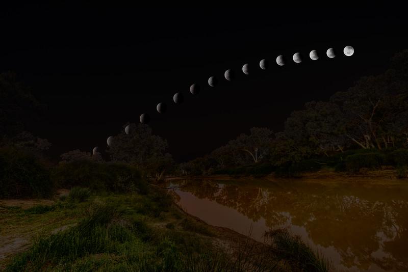 Lunar Eclipse at Innamincka