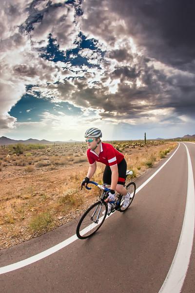 Cycling-Self-Portrait