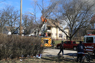 7 MARCH 2020 CLEVELAND, OH BOX ALARM FIRE  3117 E 117 ST