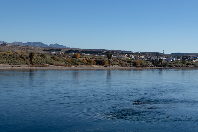 Laughlin, Nevada looking across the Colorado River