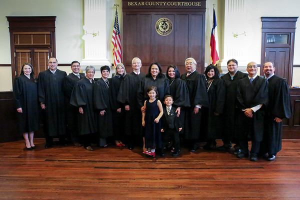 Judge Mary Lou Alvarez's swearing in ceremony