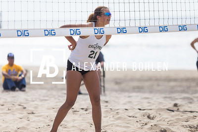 2017 Cal Poly Beach Volleyball March 2nd UCLA Matches