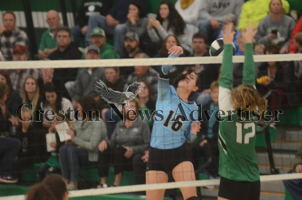 10-26 East Union - Southeast Warren Volleyball