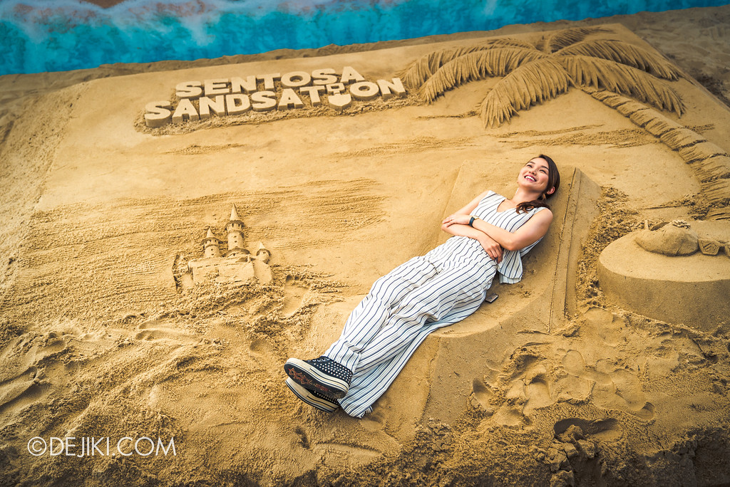 Sentosa Sandsation 2017 - Interactive Sand exhibition with Joanne Peh