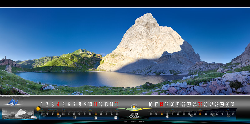 Agosto - Lago di Volaia