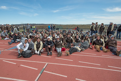 Lehigh Lafayette Outdoor 2017 Tropy Pictures