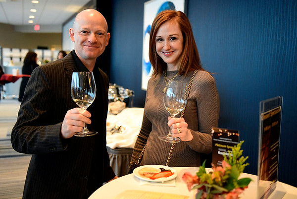 3/23/2019 Mike Orazzi | Staff Ron and Kathleen Douglas during the Bristol Hospital Development Foundation's annual Festival of Wine and Spirits held at the DoubleTree by Hilton Hotel in Bristol Saturday night.