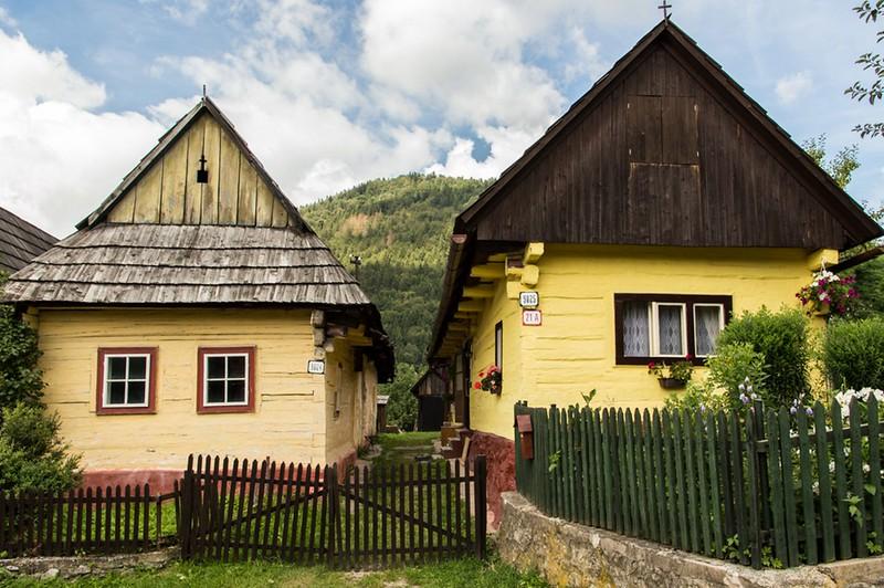 Vlkolinec houses.jpg