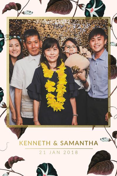 Wedding of Kenneth & Samantha   © www.SRSLYPhotobooth.sg