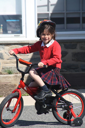 Riding Bikes with K