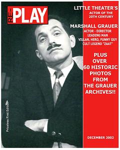 Marshall Grauer, The Little Theater Days, Jacksonville, Florida, 1953 -1980