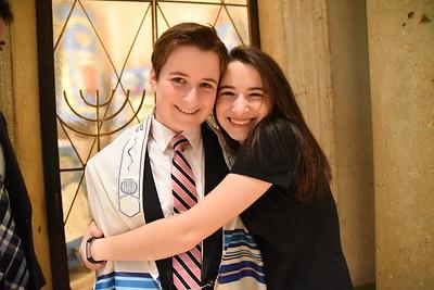 David Rothman at Temple Israel