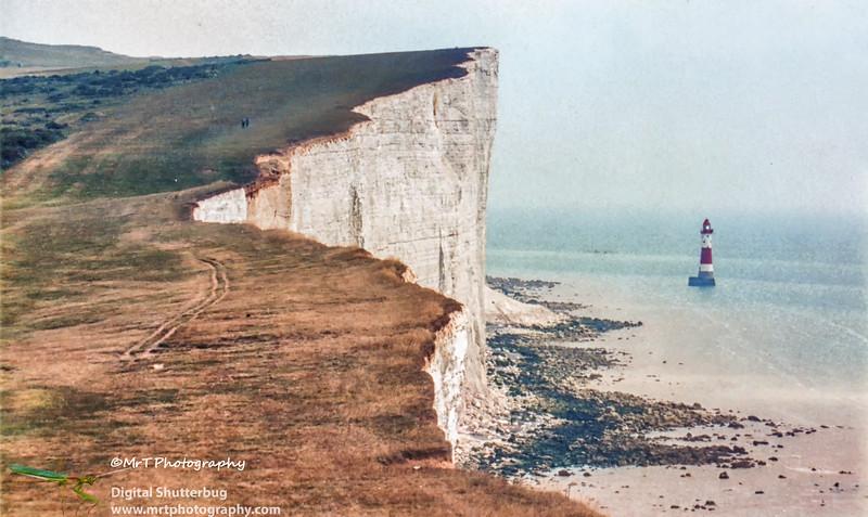 Lighthouse Beachy Head England - Jul 1996