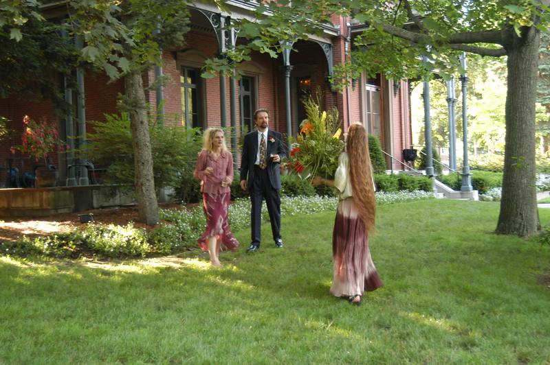 Sarah, Ian and Katja