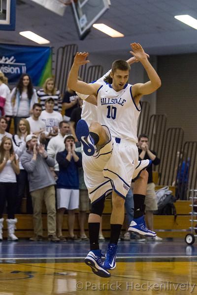 2012-11-09 Hillsdale College Men's Basketball vs. Olivet