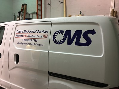 Cook's Mechanical Services 2017-02-06